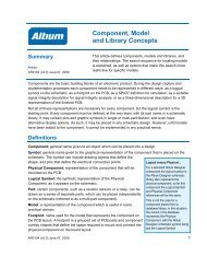P-CAD Training Outline - Altium