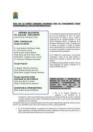 Acta Pleno Municipal celebrado el 8 de Septiembre - Ayuntamiento ...