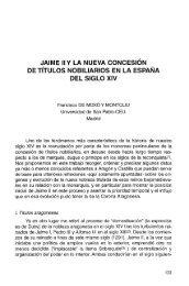 JAIME IIY LA NUEVA CONCESIÓN DE TÍTULOS ... - RUA