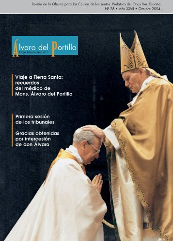 Alvaro del Portillo - Hoja Informativa nº 1 - Opus Dei