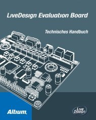 Livedesign Evaluation Board Technisches Handbuch - Altium
