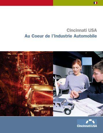 Cincinnati USA Au Coeur de l'Industrie Automobile