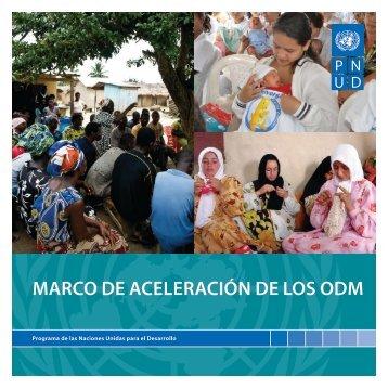 MARCO DE ACELERACIÓN DE LOS ODM
