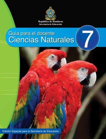 Ciencias Naturales - Secretaría de Educación