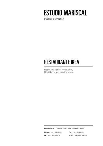 RESTAURANTE IKEA - Estudio Mariscal