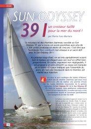Essai Sun Odyssey 39 I - Yachting Sud