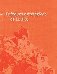 Enfoques estratégicos de CEDPA