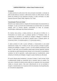 CADEIAS PRODUTIVAS - Fiep