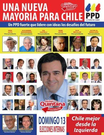 Lista B Chile Mejor desde la izquierda - PPD