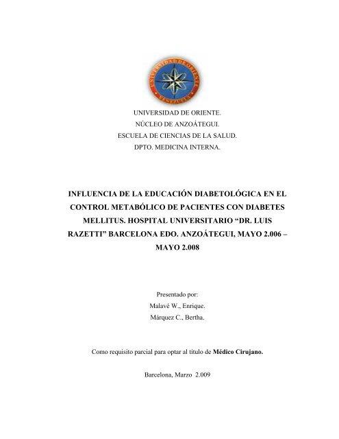 manejo de diabetes descompensada impresora pdf
