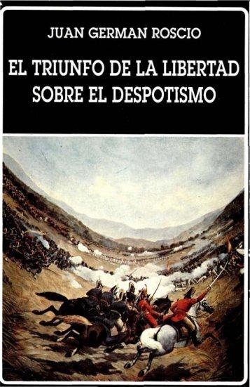 El triunfo de la libertad sobre el despotismo (1996)