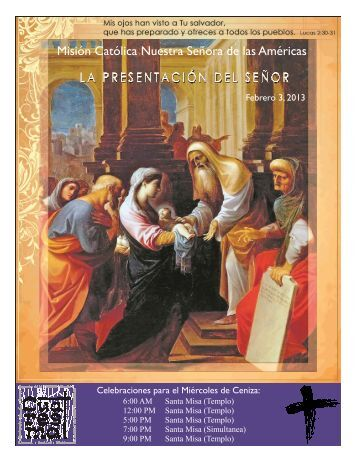 Boletin Semanal - Nuestra Señora de las Américas