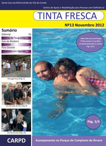 Nº13 Novembro 2012 Sumário - Santa Casa da Misericórdia de Vila ...