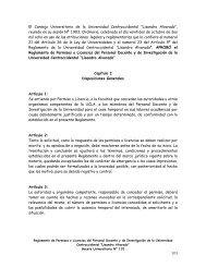 Reglamento de Permisos o Licencias del Personal Docente y de ...