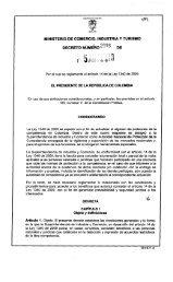 Decreto No. 2896 - Superintendencia de Industria y Comercio