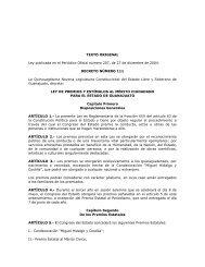 Ley de Premios y Estímulos al Mérito Ciudadano para el Estado de ...