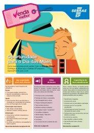 Oportunidade para o Dia das Mães - Sebrae SP