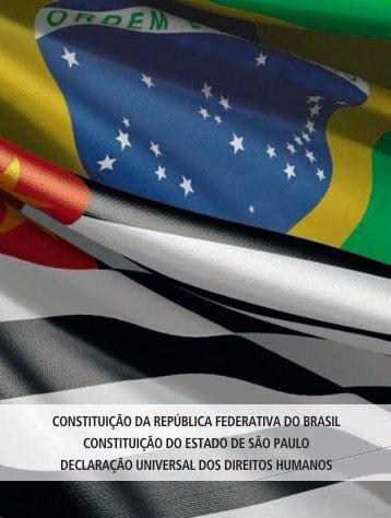 CONSTITUIÇÃO DA REPúBLICA FEDERATIVA ... - Imprensa Oficial