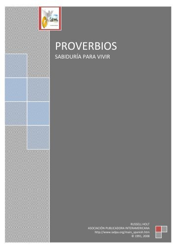 PROVERBIOS - OpenDrive