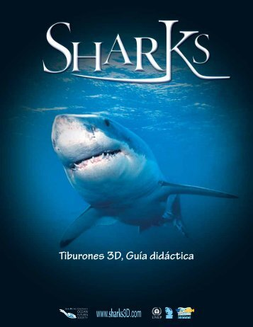 Tiburones 3D, Guía didáctica - Sharks 3D