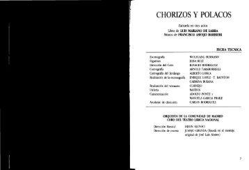 CHORIZOS Y POLACOS - Jorge Fernández Guerra