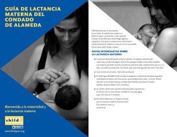 guía de lactancia materna del condado de alameda - California ...