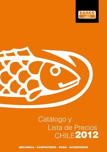 Catálogo y Lista de Precios CHILE2012