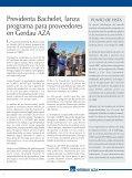 Presidenta Bachelet, lanza programa para ... - Gerdau AZA - Page 2