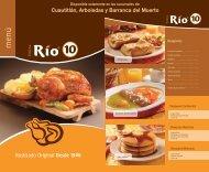 Menu - Pollos Río 10