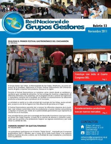 Noviembre 2011 - Grupos Gestores