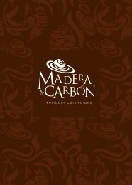Restobar Colombiano - Madera y Carbón Las Condes
