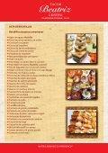 Lista de bocadillos mexicanos Cuernitos c/ jamón ... - Tacos Beatriz - Page 2
