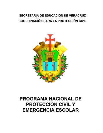 Protección Civil y Emergencia Escolar