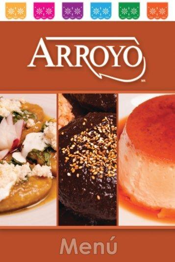 menú - Restaurante Arroyo.