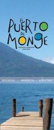 carta menu - El Puerto del Monge