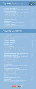 carta menu - El Puerto del Monge - Page 3