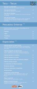carta menu - El Puerto del Monge - Page 6