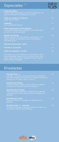 carta menu - El Puerto del Monge - Page 7