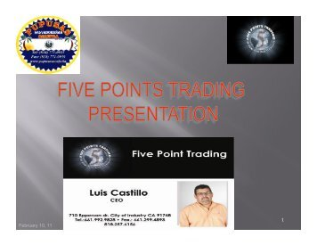 February 10, 11 1 - Five Points Trading