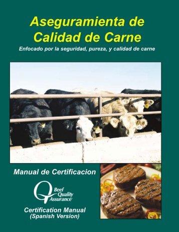 Aseguramienta de Calidad de Carne