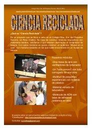 Ciencia reciclada - Parque de las Ciencias