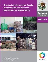 Recicladoras de residuos - Semarnat