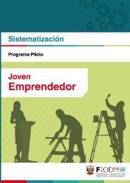 Sistematización del Programa Piloto Joven Emprendedor