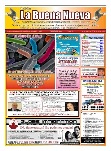 Mayo 2011 - Las Buenas Nuevas