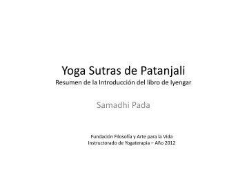 Samadhi Pada - Fundación Filosofía y Arte para la Vida