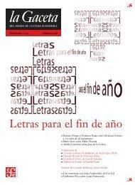 La Gaceta del FCE. Diciembre de 2004 - Fondo de Cultura Económica