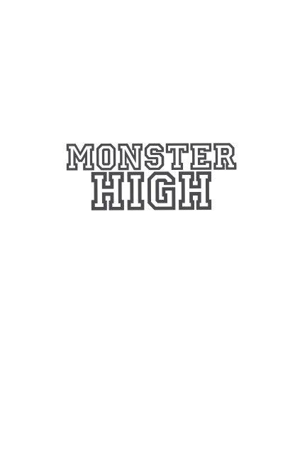 Primeras páginas de Monster High. ¡Más muertos que
