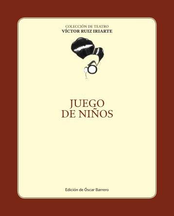 JUEGO DE NIÑOS - Víctor Ruiz Iriarte