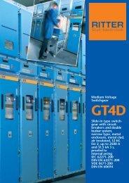 Prospekt GT4D - RITTER Starkstromtechnik