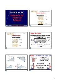 Potencia en AC Potencia en AC. Corrección del Factor de Factor de ...